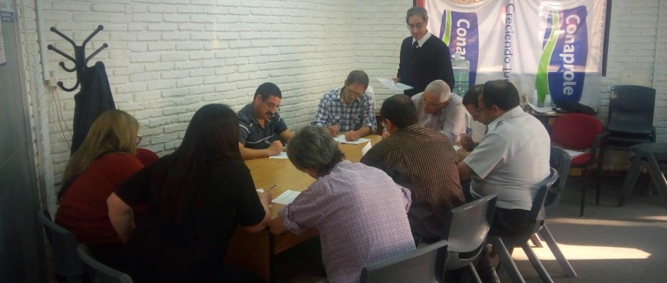 En la planta CONAPROLE de la ciudad de Rodríguez realizamos una nueva actividad de formación